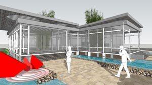 Modern 3D House - SketchUp