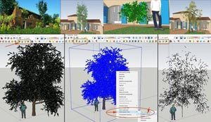 SketchUp-Plugin -3D Tree Maker